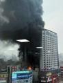 韓国中部のホテルで火災 数人搬送