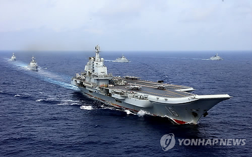 """""""中, 항모 랴오닝함에 전자식 사출장치 장착 검토"""""""