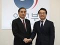 Envoyés nucléaires coréen et chinois