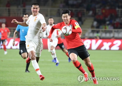 (LEAD) (Asian Cup) Son Heung-min breathes life into S. Korean offense