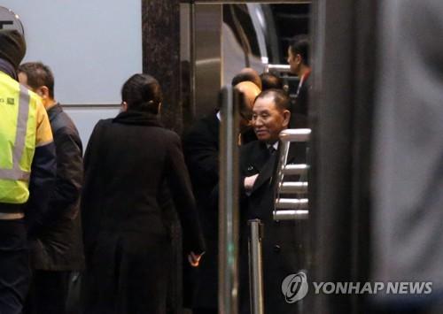 北김영철, 美항공사 이용하다 보안검색 놓고 '신경전'