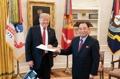 Lettre de Kim Jong-un