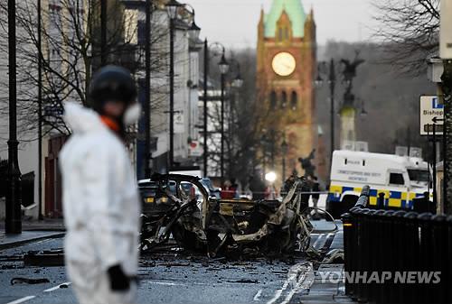 북아일랜드 차량폭탄 용의자 2명 추가체포…4명으로 늘어