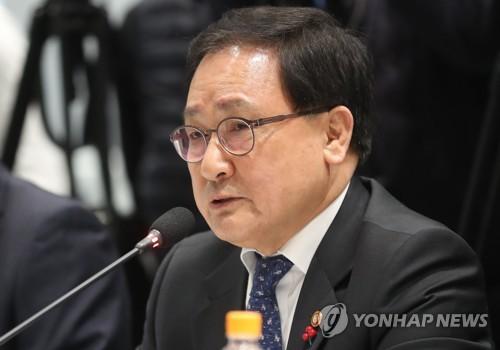 """유영민 과기장관 """"5G시대 대비 기업 간 협력강화 필요""""(종합2보)"""