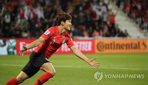 -아시안컵- 김진수 연장 결승골 한국, 바레인에 2-1 진땀승 거두고 8강(종합)