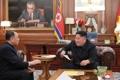 Kim Jong-un et Kim Yong-chol
