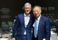 Président de KT et PDG d'Apple