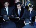 L'émir du Qatar en Corée