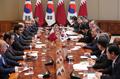 Sommet Corée-Qatar