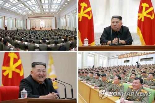 """김정은, 건군절에 인민무력성 방문…""""軍, 경제발전에 한몫해야"""""""