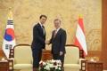 الرئيس مون يجتمع مع رئيس وزراء النمسا