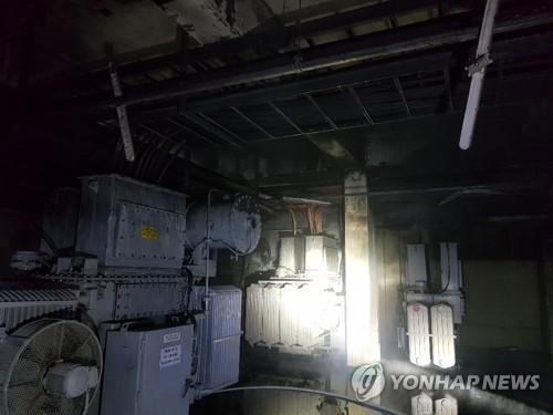 """고려아연 온산제련소 전력실서 화재…""""인명피해 없어""""(종합)"""