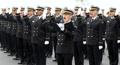 海軍士官学校で入校式