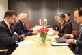 وزيرة الخارجية تجتمع مع نظيرها البولندي
