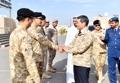 وزير الدفاع الكوري يزور وحدة الأخ العسكرية في الإمارات