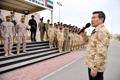 وزير الدفاع الكوري جونغ يزور وحدة الأخ الكورية في الإمارات