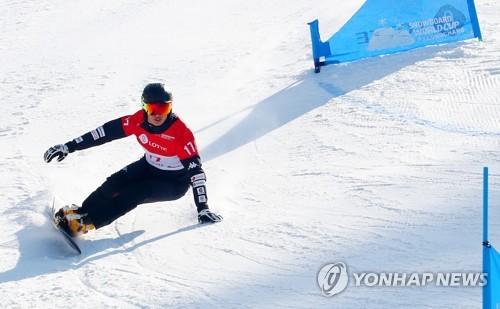 평창 은메달 이상호, 중국 스노보드 월드컵서 27위