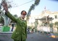 迫る米朝首脳会談  警戒強化