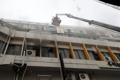 サウナで火災 2人死亡・50人以上けが