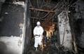 2人死亡のサウナ火災現場