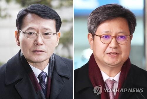 """김장겸·안광한 MBC 前사장 집행유예…""""노조탄압 처벌 마땅""""(종합)"""