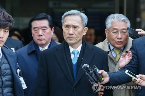 '軍 댓글공작' 김관진 1심 유죄 판결에 불복해 항소