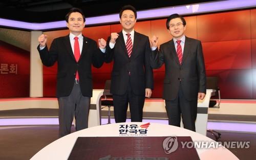 '어대黃!' vs '吳!역전'…한국당 당권주자들 막판 스퍼트