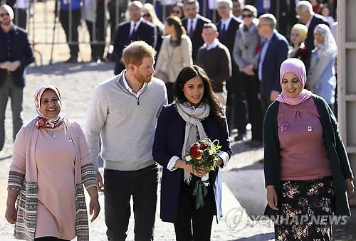 '형과 불화설' 英 해리 왕자 커플, 출산 후 아프리카로?