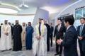 El príncipe heredero de Abu Dabi en Corea del Sur