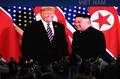 Kim Jong-un y Donald Trump en la segunda cumbre
