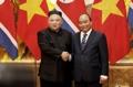 Kim avec le PM vietnamien