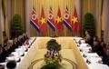 El líder norcoreano se reúne con el presidente vietnamita
