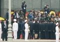 Kim rinde homenaje en el mausoleo de Ho Chi Minh