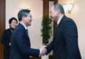 Avec le PM ouzbek