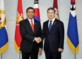 Avec le ministre indonésien