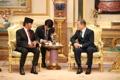 Moon et le sultan de Brunei