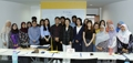 Avec des étudiants brunéiens