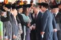 Moon et membres du cabinet malaisien