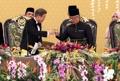 Moon asiste a una cena de Estado en Malasia