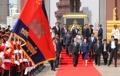Rindiendo tributo al difunto rey camboyano