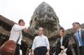 Moon en Angkor Wat