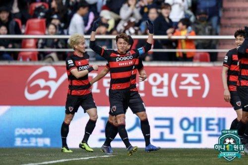 포항 첫 승 이끈 김승대, K리그1 3라운드 MVP