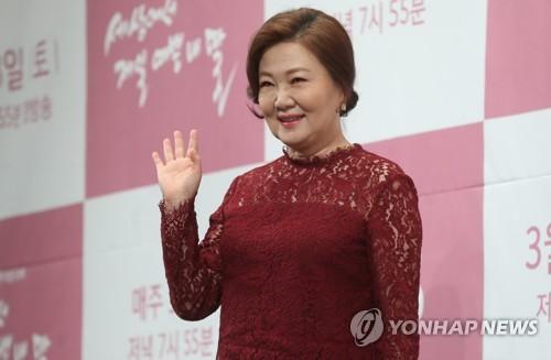김해숙, 영화 '하얼빈'서 안중근 모친 조마리아 역