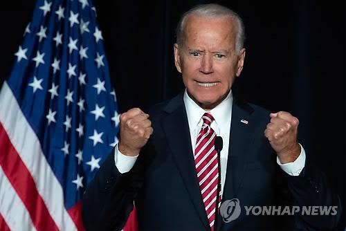 美민주 바이든 내주 대선출마 선언…고령·신체접촉 논란 변수
