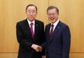 Avec Ban Ki-moon