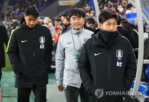 (LEAD) Two La Liga prospects fail to make senior S. Korea debuts in March football friendlies