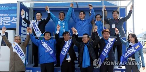 상승세 한국당 저지 vs 오만한 文정권 심판…'PK 결투' 총력전