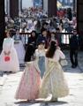 Touristes à Gyeongbok