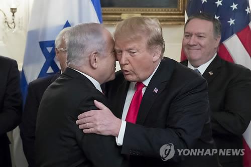 """""""백악관, 이스라엘-일부 아랍국가 비교전 협정 추진"""""""