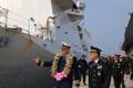 Un guardacostas estadounidense llega a Jeju